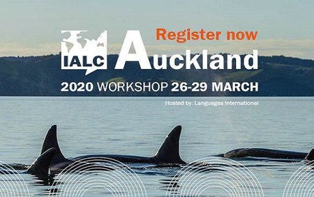 IALC 2020 Auckland Workshop - Register now!