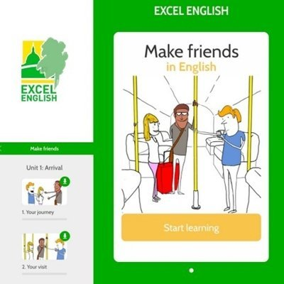 New English learning app now available at Excel English