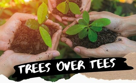 Inspirational IALC language school in Cape Town offers Tree's over Tee's initiative