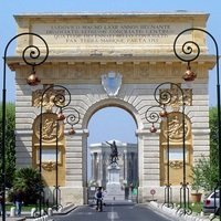 France Montpellier Arc de triomphe