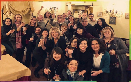 IALC language school Dilit in Rome celebrate 'first 45 years'!