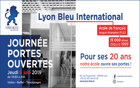 Lyon Bleu International celebrates 20 years