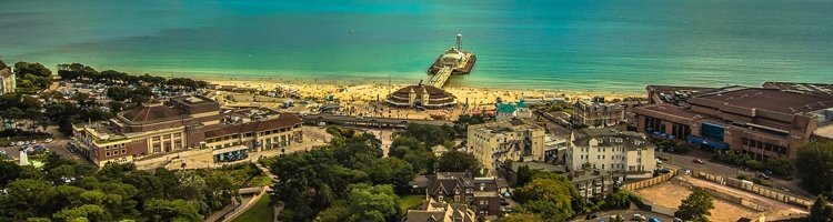 Bournemouth aerial view