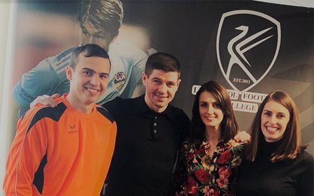 LILA* Liverpool Announces Exciting Partnership with Liverpool Football Club Legend Steven Gerrard