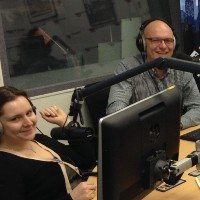 Julia Voevodina and Walter Denz on Moscow FM