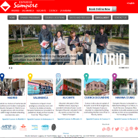 A new, user friendly website for Spanish language school Estudio Sampere