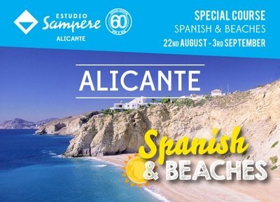 Spanish and Beaches on the Costa Blanca
