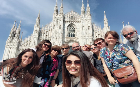 Agents join fam-trips throughout Italy after IALC Bologna Workshop