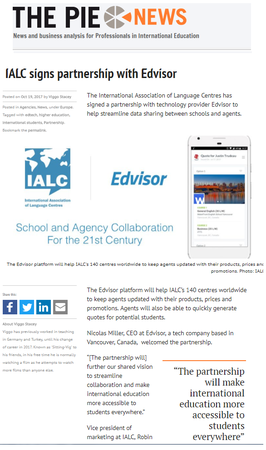 Hot off the press, IALC receives extensive exposure from industry publications.