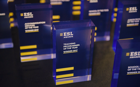 IALC language schools recognised at ESL language travel awards 2018