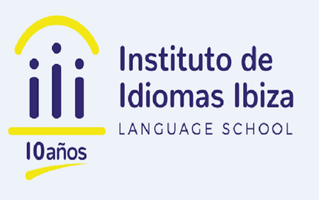 Instituto de Idiomas Ibiza celebrating its 10th anniversary with special logo